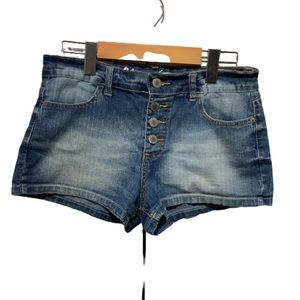 BLUENOTES BUTTON FLY SHORTS